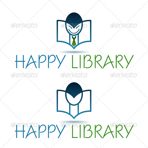 Happy Library - Objects Logo Templates