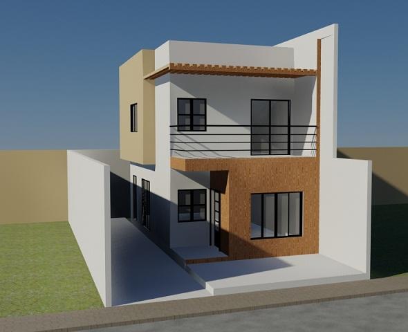 3DOcean minimalist house 106367