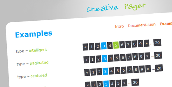 CreativePager - CodeCanyon Item for Sale