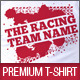 Racing Team Promotion T-Shirt Template - GraphicRiver Item for Sale