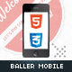 Baller Mobile Retina | HTML5 & CSS3 and iWebApp - ThemeForest Item for Sale