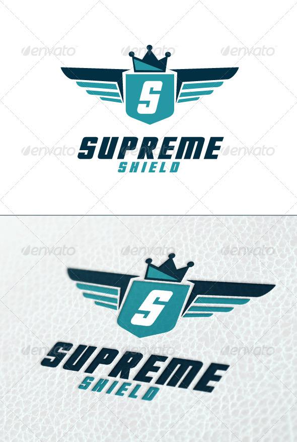 Supreme Shield Logo Template - Crests Logo Templates