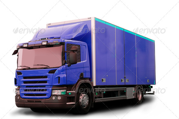 Isolated Tractor Truck - Stock Photo - Images