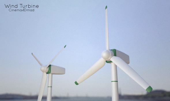 3DOcean Wind Turbine 3004182