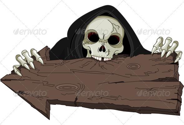 Halloween Grim Reaper - Halloween Seasons/Holidays