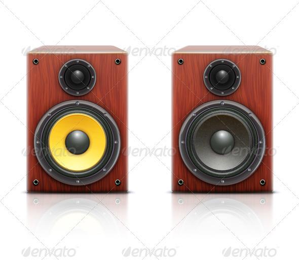 Sound loud hi-fi audio system