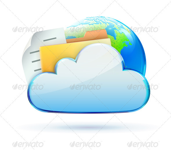 Cloud based data sharing concept