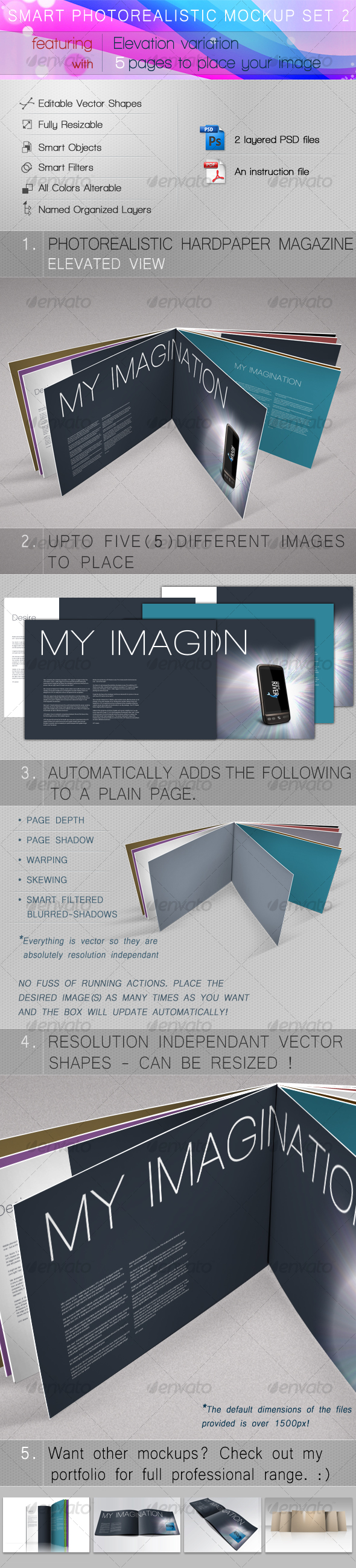 GraphicRiver Smart Photorealistic Mockup Set 2 105841