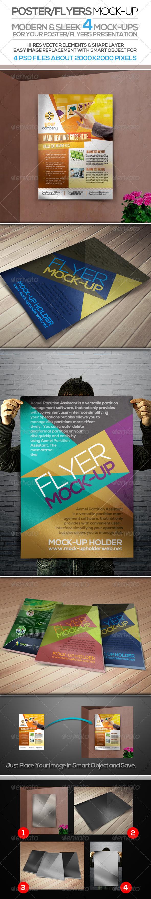 Flyer Poster Mock-up