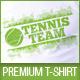 Tennis Team Uniform T-Shirt Template - GraphicRiver Item for Sale
