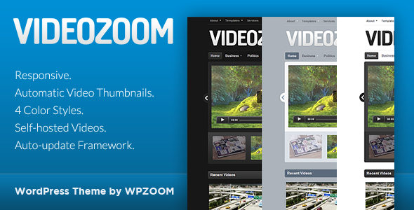 Videozoom - WordPress Video Theme