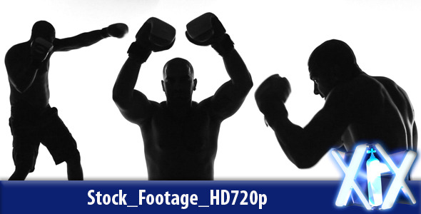 VideoHive Boxing Silhouette 2951710