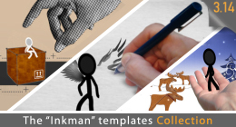 "The ""INKMAN"" Templates"