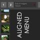 Aligned Menu V1 - ActiveDen Item for Sale