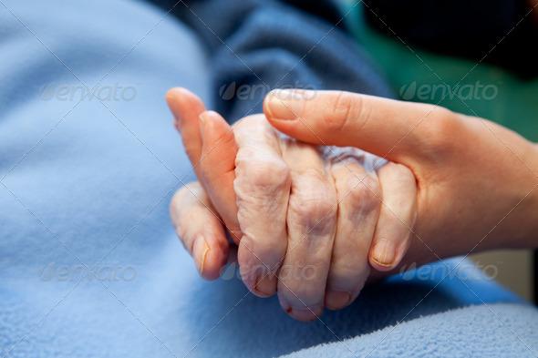 PhotoDune Old Hand Care Elderly 260989
