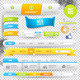 Vector Web Elements, Buttons and Labels - GraphicRiver Item for Sale