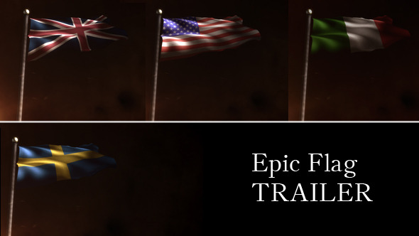 After Effects Project - VideoHive Epic Flag Trailer 3007180