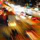 Traffic On The Road Time Lapse  - VideoHive Item for Sale