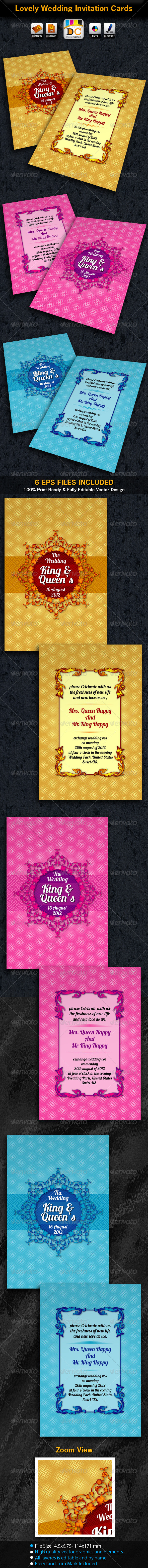 Lovely Wedding/Marriage Invitation Card Sets - Weddings Cards & Invites