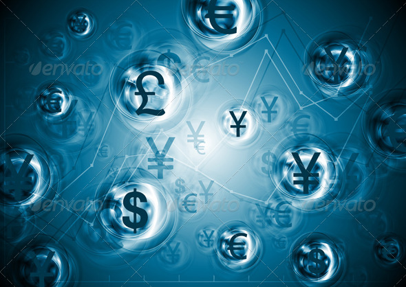 World currencies. Business background - Backgrounds Business