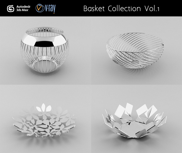 Basket Collection Vol.1 - 3DOcean Item for Sale