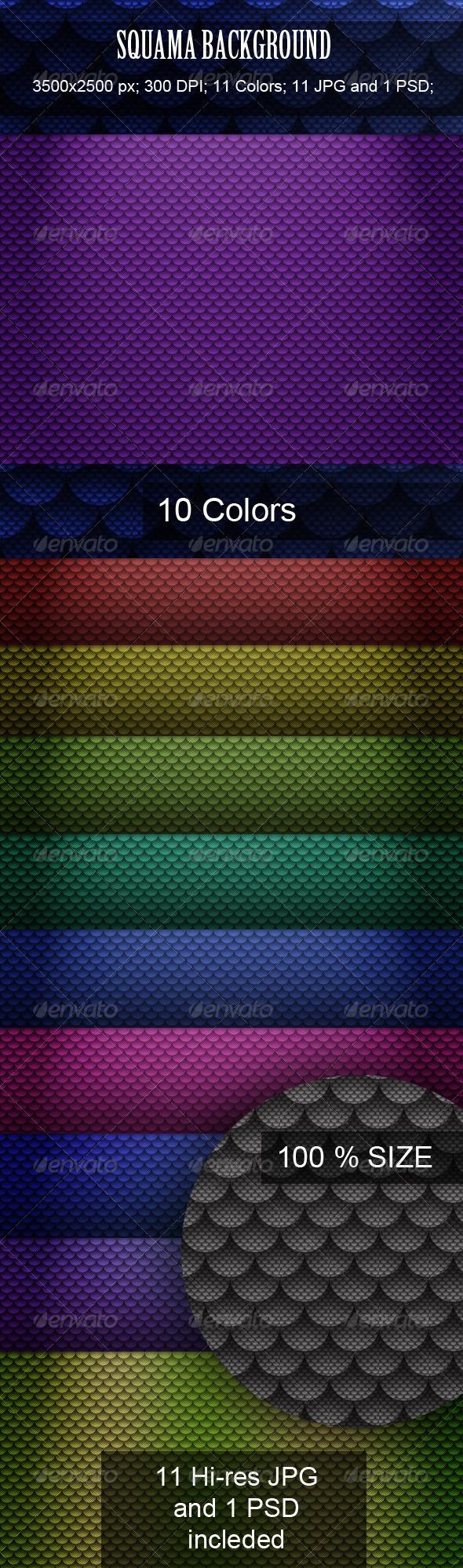 Squama Background - Patterns Backgrounds