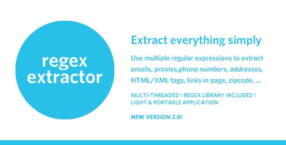 RegEx Extractor - Extract Everything Simply ! - CodeCanyon Item for Sale
