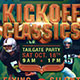 Kickoff Classics Football Flyer Template - GraphicRiver Item for Sale