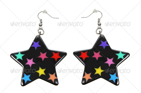 Earrings - Stock Photo - Images