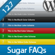 Sugar FAQs - WordPress FAQ Management Plugin