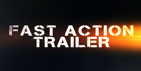 After Effects Project - VideoHive Fast Action Trailer 308993