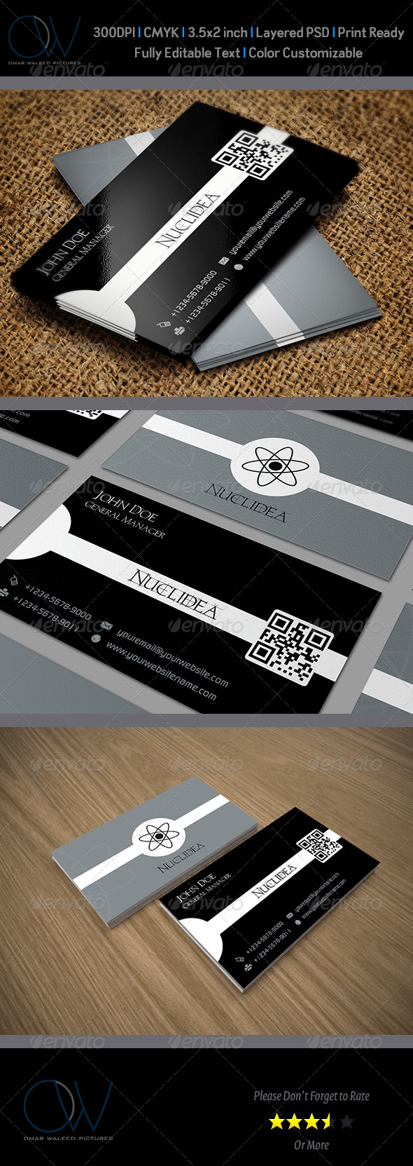 Scientific Business Card - Creative Business Cards