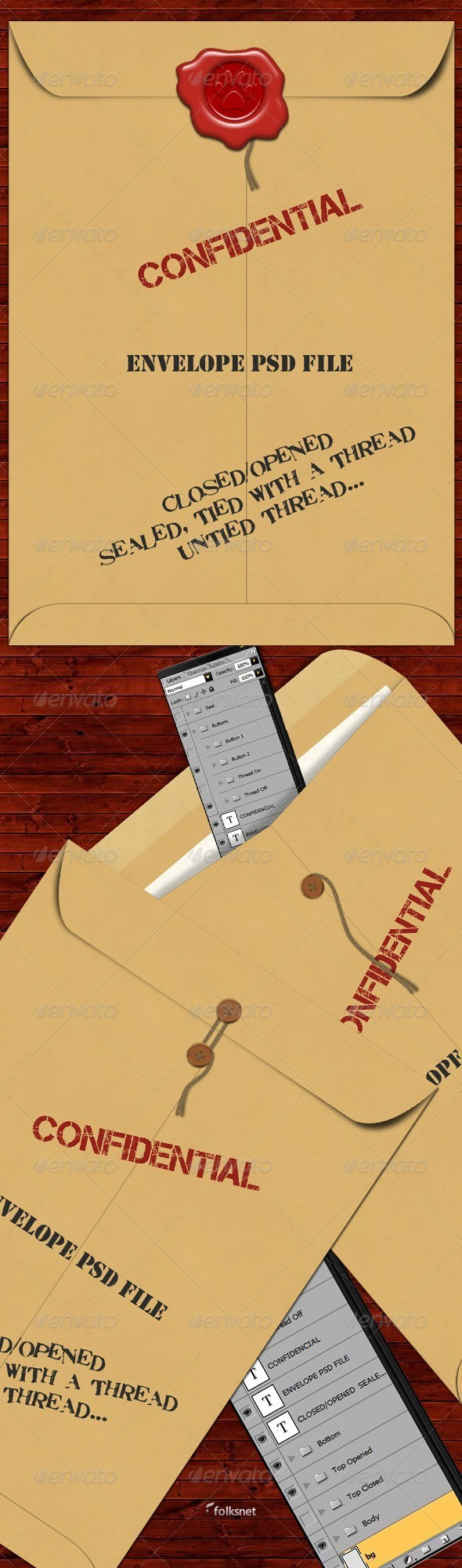 GraphicRiver Envelope 309024