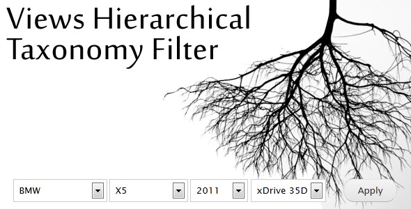Views Hierarchical Taxonomy Filter - CodeCanyon Item for Sale