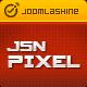 JSN Pixel Joomla tempalte with EasyBlog styling