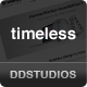 timeless - Minimal Typographic WordPress Theme - ThemeForest Item for Sale