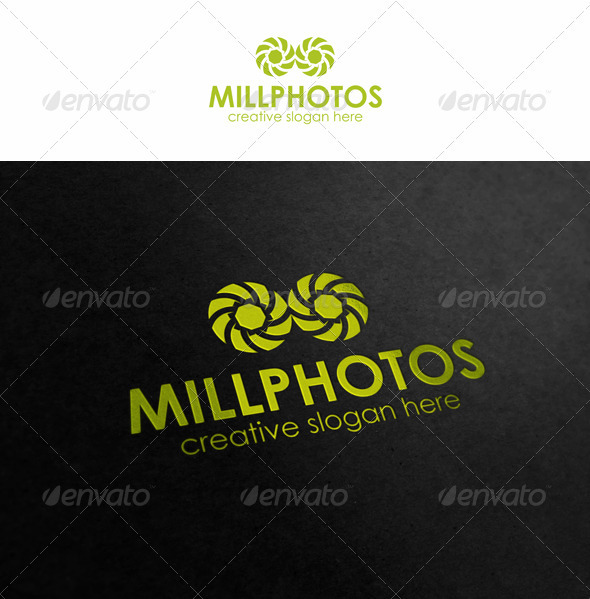 Mill Photos - Symbols Logo Templates