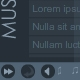 Simple And Elegant XML Music Player 1 - ActiveDen Item for Sale