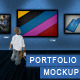 Professional Portfolio Mockup - GraphicRiver Item for Sale