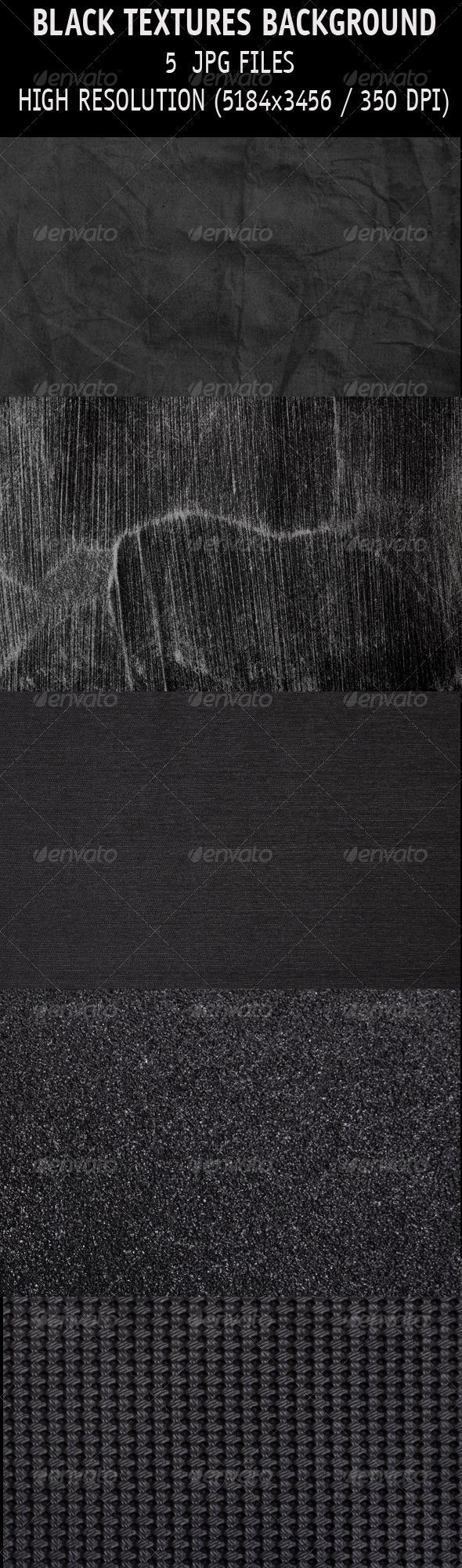 Black textures background