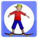 Toon SkateBoard - ActiveDen Item for Sale