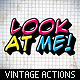 Vintage Text Actions / Styles / Textures Bundle - GraphicRiver Item for Sale