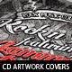 Rock Fest CD Artwork PSD Template