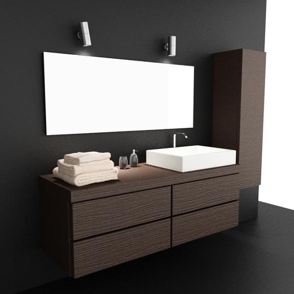 3DOcean Bathroom Set 03 3015866