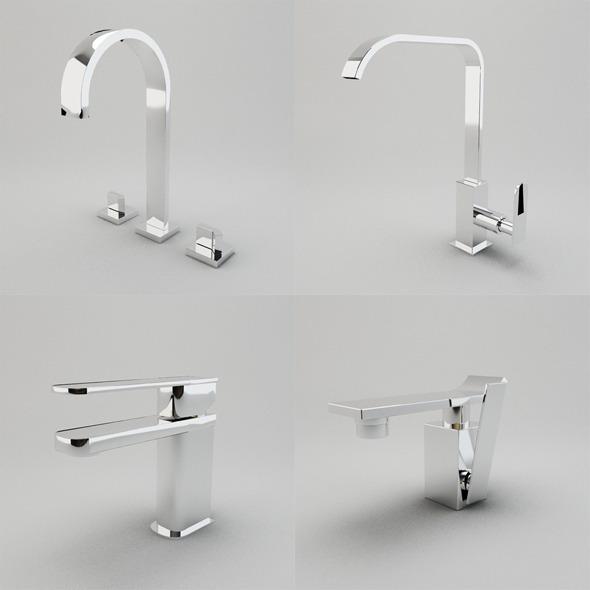 3DOcean Faucet Collection Vol.1 3015873