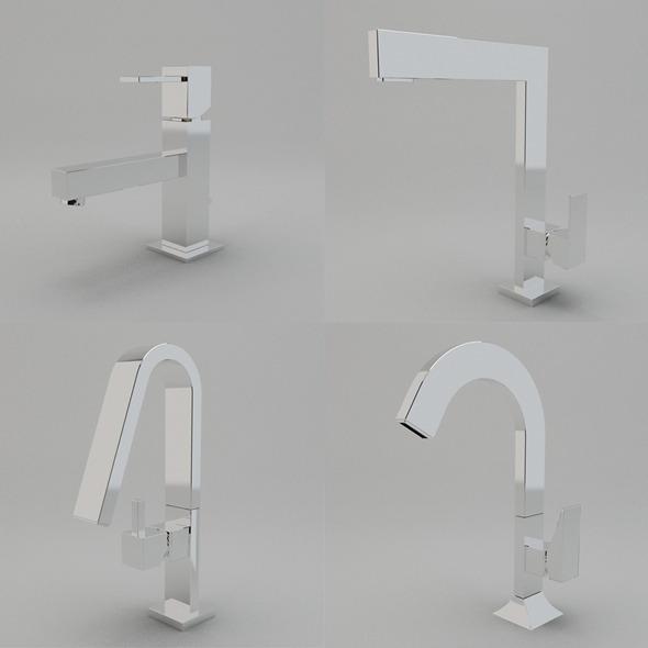3DOcean Faucet Collection Vol.2 3016155