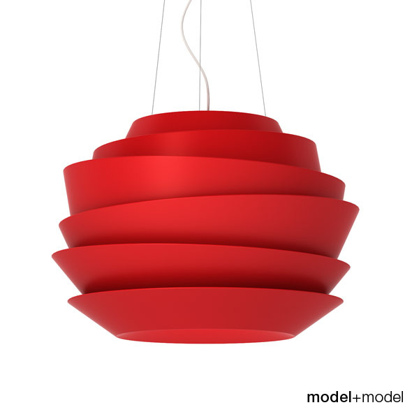 Foscarini Le Soleil suspension lamp - 3DOcean Item for Sale