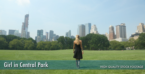 Girl in Central Park 2-Pack