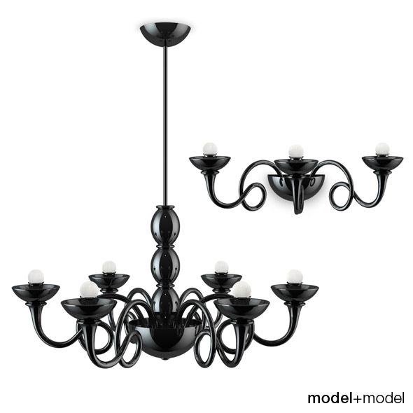 3DOcean Artemide Pantalica lamps 309623