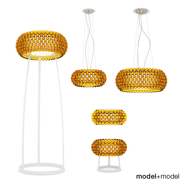 Foscarini Caboche lamps - 3DOcean Item for Sale